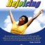 Image of smiling woman with arms up in joy